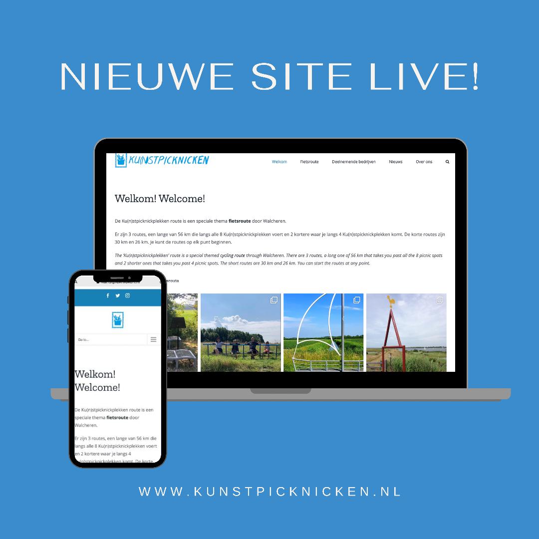 Nieuwe website Ku(n)stpicknicken